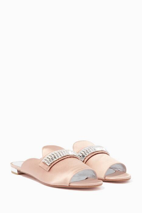 Antique-Rose Winston Embellished Flats
