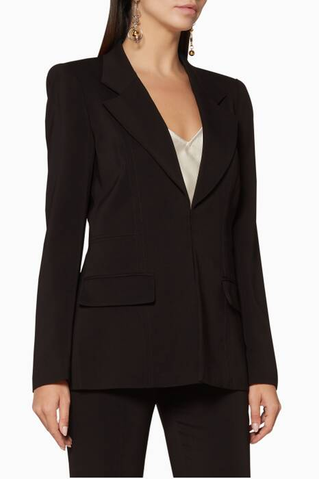 Black Catharine Blazer
