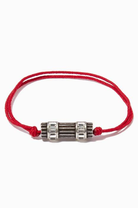 Red Woman in Paris Bracelet