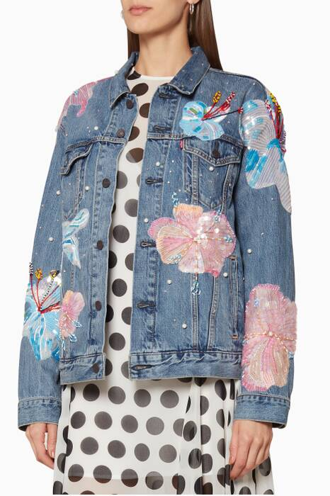 Romance Was Born X Levi's Fertile Flower Jacket