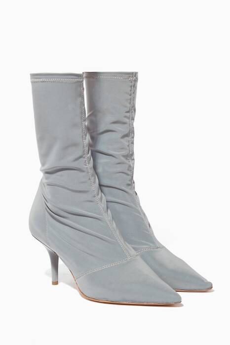 Light-Grey Reflective Booties