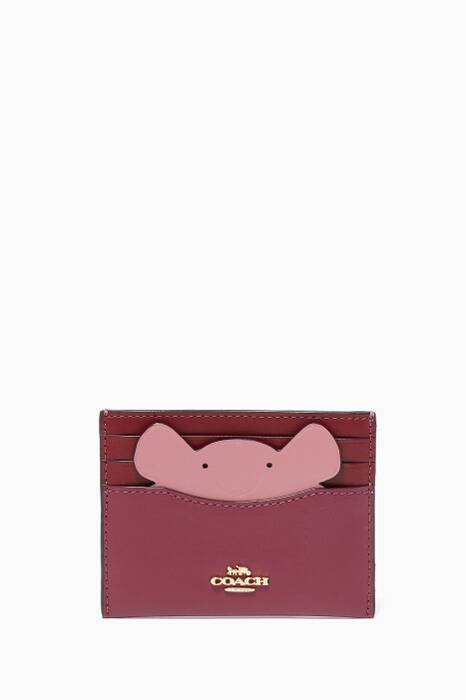 Dark Berry Mouse Card Case