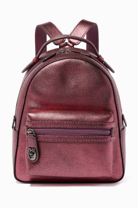 Metallic Berry Campus 23 Backpack