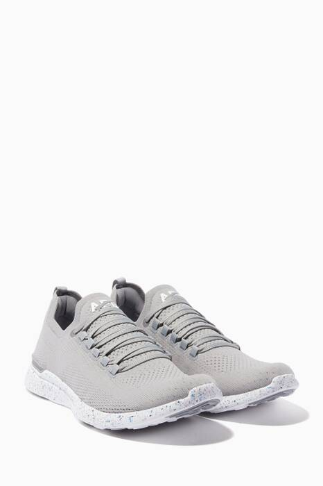 Cement-Grey TechLoom Breeze Sneakers