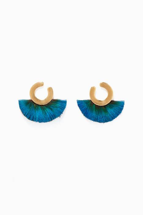 Blue Positano Earrings