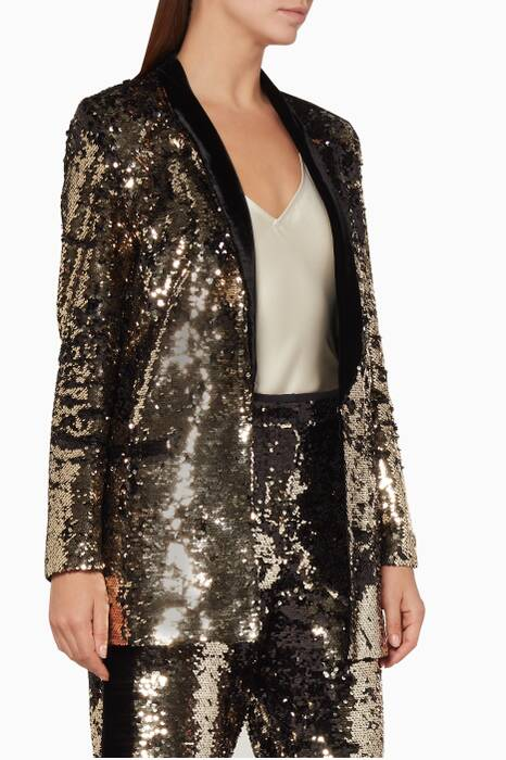 Bronze Sequined Scarlett Jacket