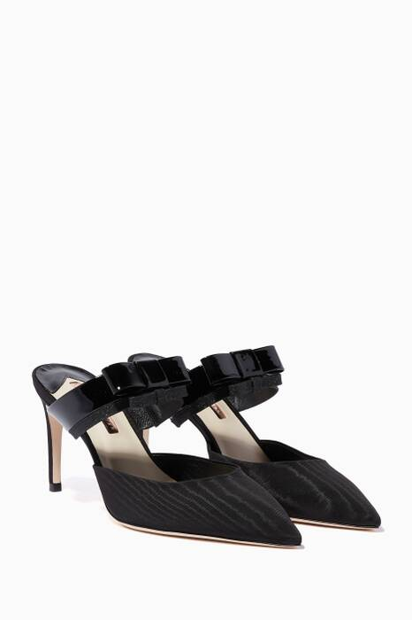 Black Andie Bow Mules