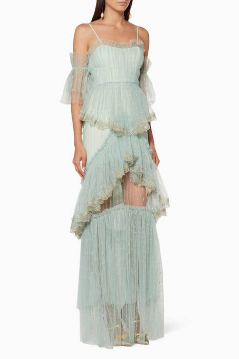 Antique Sea-Green Stillness Gown