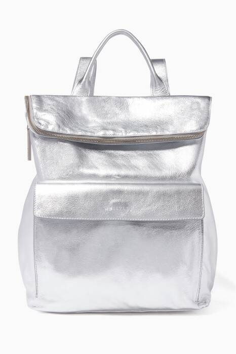 Pewter Metallic Verity Backpack