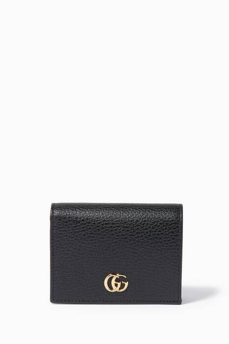 Black Petite Marmont Card Case