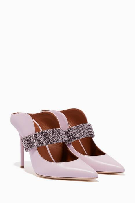 Light-Pink Mara Luwolt Mules