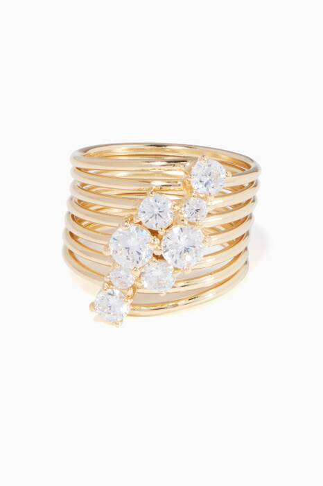 Gold Milky Way Ring