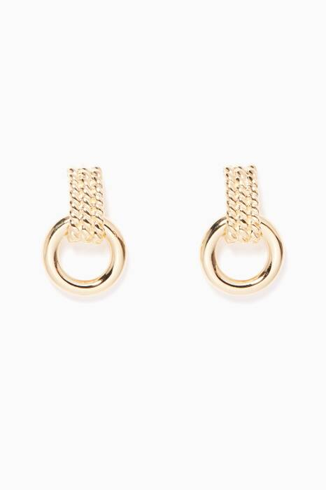 Gold Tilda Hoop Earrings