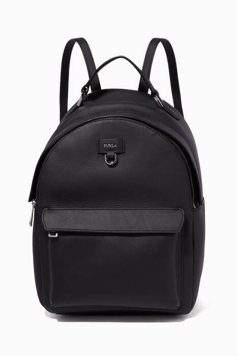 Onyx Favola Leather Backpack