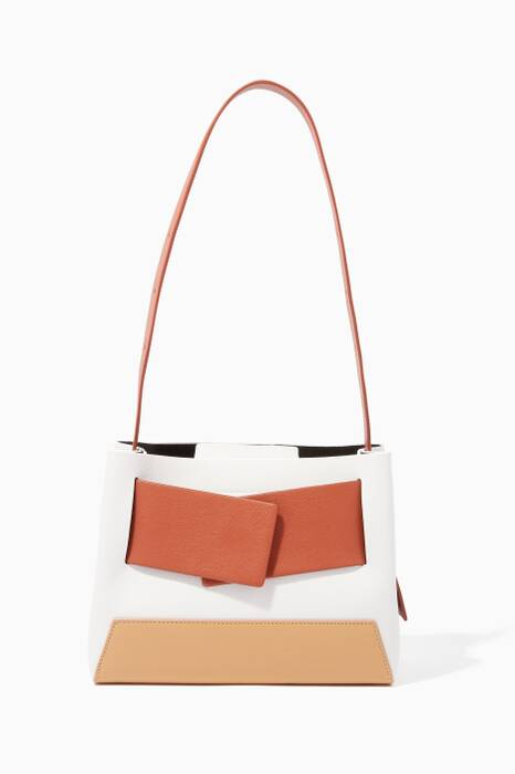 White Biggy Tote Bag