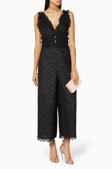 Black Winsome Jumpsuit