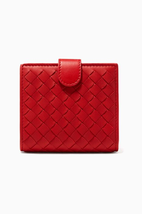 Red 103 French Coin Mini Wallet