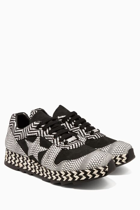 Optic Print Macy Sneakers