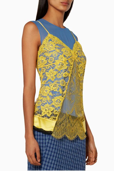 Blue Sonora Sleeveless Top