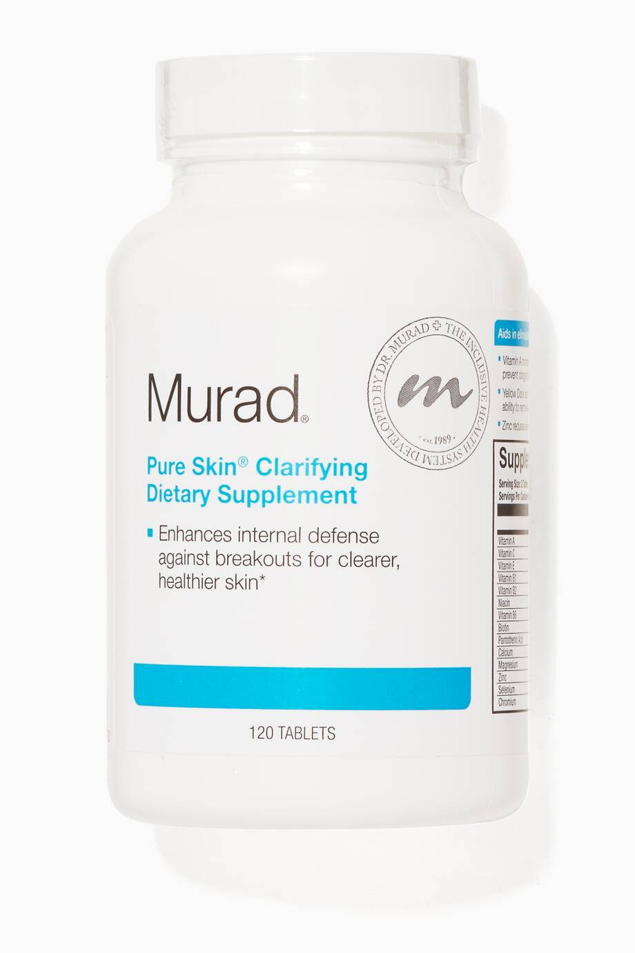 Insta Supplement Magazine: Shop Luxury Murad Pure Skin Clarifying Dietary Supplement